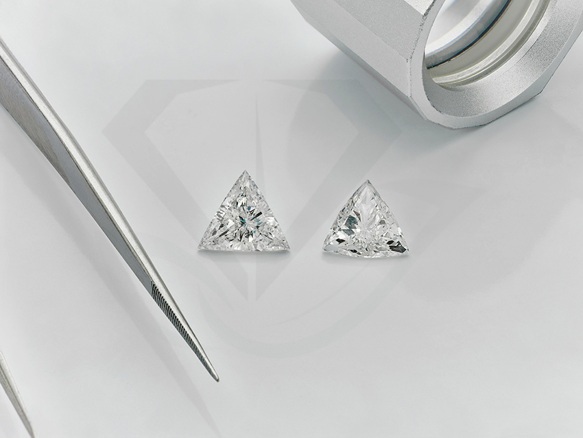 Trillion Cut or Trilliant cut Diamond Buying Guide
