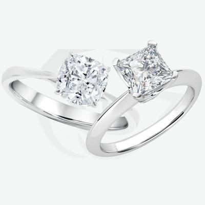 Princess cut vs. Cushion cut diamonds: Which shape is best?